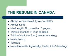 cover letter length working in canada applying for a the resume in canada always