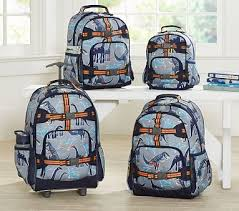 dino registry mackenzie gray dino backpacks pbkids children