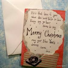 christmas record love cards