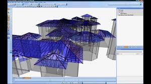 Free Timber Truss Design Software by Mitek Sample 3d Truss Design Software Youtube
