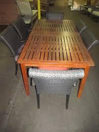 Teakwood Patio Furniture Auction Nation Auction Phoenix Onsite Bullseye Retailer New