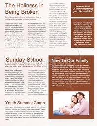 prayer for thanksgiving church newsletter template template