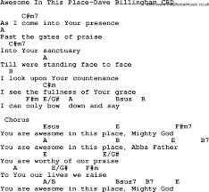 christian childrens song awesome in this place dave billingham