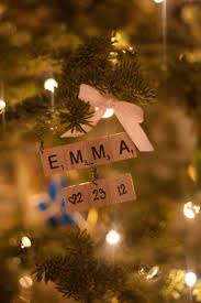 26 adorable handmade ornaments scrabble letters baby