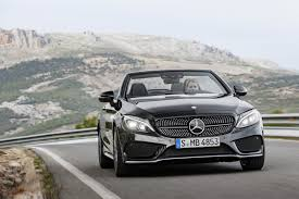 New C New 2017 Mercedes Benz C Class Convertible For That S Class Flair