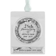 silver frame ornaments keepsake ornaments zazzle