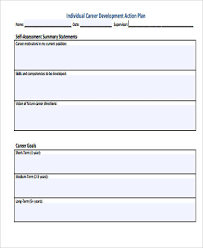 career development plans 8 sample career action plan free sample example format download