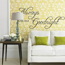 online get cheap rainbow quotes aliexpress com alibaba group rainbow fox word wall decal always kiss me good night quote wall stickers quiet and romantic home wallpaper letter decal