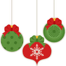 Cute Christmas Ornament Clipart Collection