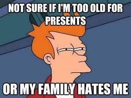 Christmas Present Meme - 24 7 meme christmas present
