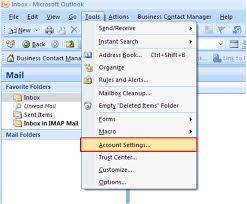 Microsoft Office Outlook Help Desk Set Up Microsoft Office Outlook 2007 For Email Tracking Lasso