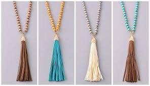 tassel necklace images Boho fringe tassel necklace lovmely jpg