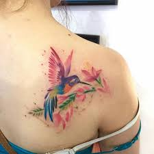 6 amazing flower watercolor tattoos for girls love all style