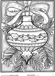 ornaments coloring pages printable page ornament
