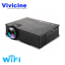 vivicine uc40 uc46 portable mini led projector optional wifi