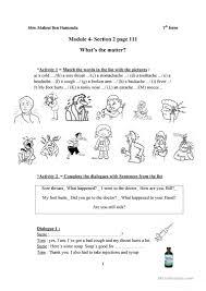 25 free esl what u0027s the matter worksheets