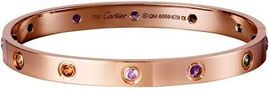 cartier bracelet images Brief cartier love bracelet grows in popularity sparkle jpg