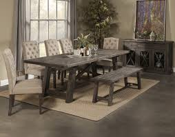 Dining Room Chairs And Benches by Awesome Grey Dining Room Table Gallery Home Design Ideas