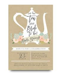 bridal tea party high tea bridal tea party invitation