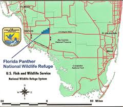 Florida Interstate Map by About The Refuge Florida Panther U S Fish And Wildlife Service