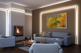 frisch indirektes licht wohnzimmer decke ruhigen unfreundlich auf