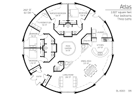 large round house plans design homes