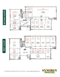 synergy wellness centre floorplan
