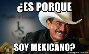 Meme Mexicano - es porque soy mexicano joan sebastian meme generator
