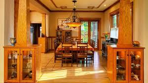 american craftsman american craftsman dining room design ideas youtube
