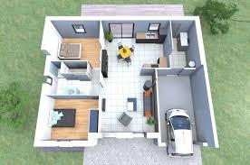 plan maison 2 chambres plain pied plan maison plain pied 2 chambres garage madame ki