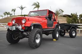 jeep offroad trailer sold 1989 cj7 custom jeep u0026 trailer ca youtube