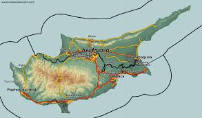map of cyprus country maps cyprus