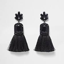 black earings earrings women jewelry river island