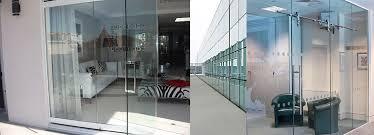 Framless Glass Doors by Misaco Gulf Aluminium U0026 Glass Company Abu Dhabi Frameless