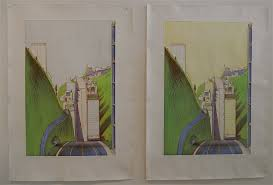 Wayne Thiebaud Landscapes by Wayne Thiebaud Intaglio Prints From Last Year U0027s Cityscapes