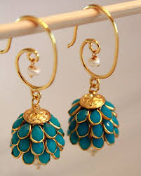 jhumkas earrings best 25 indian earrings ideas on indian jewelry
