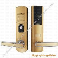Bedroom Door Locks With Key Luxury Waterproof Pcb Zinc Alloy Hotel Door Locks Onity Card Alarm