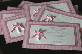 handmade invitations handmade 1st birthday invitations best party ideas