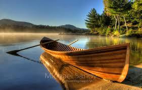 michael sandy photography adirondack guideboat