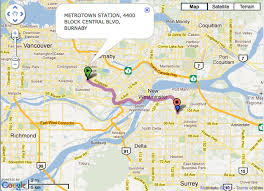 trip map the buzzer maps email and print options added to
