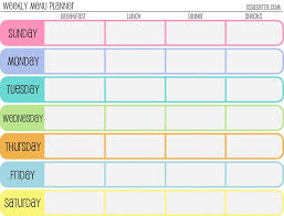 blank calendar template to type on