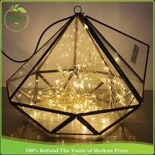 Clear Glass Square Vase For Flower Arrangement Geometric Square Glass Vases Handmade