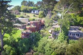 tri level home octagonal mill valley house returns with price cut asks 2
