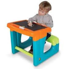 bureau enfant smoby smoby bureau enfant petit ecolier bleu ebay