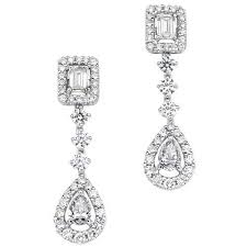 diamond earrings stylish diamond earrings at rs 30000 pair s sowcarpet