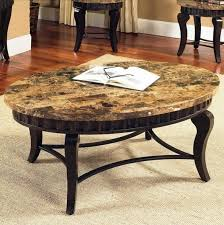 granite top end tables 9 best collection of round granite top coffee tables