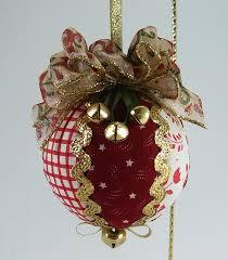 p align u003dcenter u003equilted christmas ball ornaments u003c p