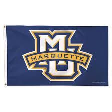 Monogram Garden Flag Marquette Golden Eagles Mu Marquette Monogram Flag