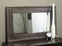 wood framed best 25 wood framed mirror ideas on diy mirror wall