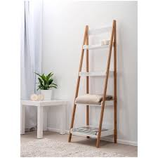 Bathroom Ladder Shelf by Step Ladder Shelf Ikea How To Build Ladder Shelves Ladder Shelves